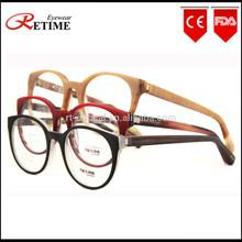 2015 New China Wholesale Fashion Big Acetate Optical Frame Women Eyeglasses Frame (AC-678)