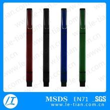 PB-051 Wholesale Rubber Grip Plastic Ball Pen OEM Logo Gift Pens