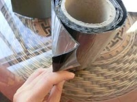 Self-adhesive bitumen waterproof tape roll