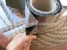 Self-adhesive bitumen waterproof tape roll