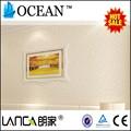 élégant sans soudure trail 3d plafond, papier peint pour les toilettes