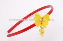2015 New design children style butterfly hairband