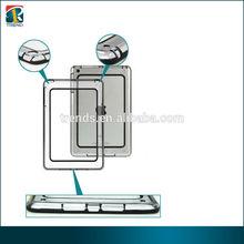 EXW price cheap pc+tpu hybrid clear bumper case for Ipad mini