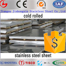 cold rolled plate/sheet 310s marine stainless steel