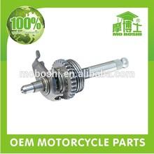 Aftermarket motorcycle transmission spline shaft with sprocket for cg125