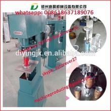 Semi-auto Pneumatic or electric Tin Can sealer / Jar Sealer / Plastic bottle can sealer
