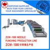 ZCM-1000 Needle punching waste felt production line,Geotextile woven fabric production line,Middle speed needle punching machine