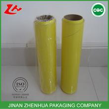 transparent plastic wrap cling film for food grade pvc soft film