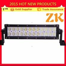 72W aluminum IP67 13.5 inch 2 rows roof truck 4X4 led light bar