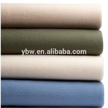 super soft solid color polar fleece blanket for hotel bed sheet