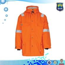 Flame Resistant Hi Vis ANSI Class 3 Long Sleeve T-Shirt Workwear