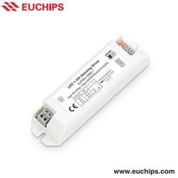 20W LED Driver 0-10V/1-10V Dimmable