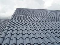 carbon fiber upvc roof tile imitation plastic roof tiles