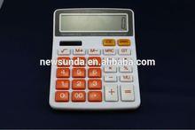 Desktop calculator gfit stationery medium size plastic 12 digits calculator