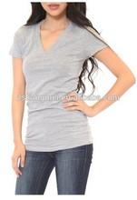Custom wholesale workout clothing crossfit tri blend dri fit t-shirt OEM guangzhou factory+custom printing
