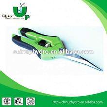 curved blade scissor/ aquarium tweezers aquarium tweezers/ plant garden trimming scissors