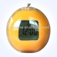 Funny desk LED digital talking alarm clock with temperature