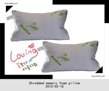 Adults Group Bamboo Material bamboo shredded memory fom pillow
