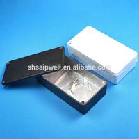 Manufacturer Saipwell New IP54 112*60*27 MM 1590B Pedal Enclosure Aluminum Box