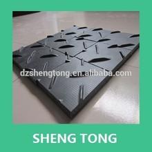 high density polyethylene ground mat /ground protection access roads