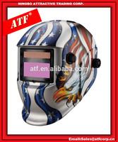 ATF ANSI Z87.1 Eagle design welding helmet