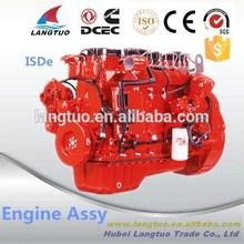 Truck Engine 118HP FOUR Cylinder 4.5L ISDe 160 mini diesel engine