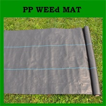 Agricultural management woven PP weed barrier mat