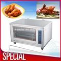 comercial restaurante de gas de acero inoxidable asador de pollos de la máquina