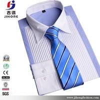 100% cotton brand name men long sleeve dress shirt