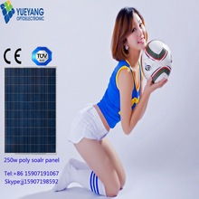 hot selling high efficiency mono solar panel 250w manufacture in China monocrystalline solar panel price india
