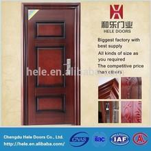 Popular design wrought iron door indian door designs