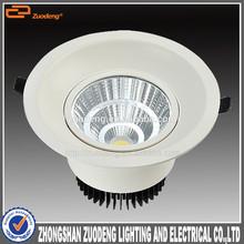 4000K Hk lighting fair EMC 12w cob led downlight dimmable
