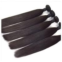 Yiwu alibaba cheap straight hair weave color 2b