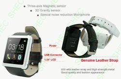 Smart Watch handmade leather bag