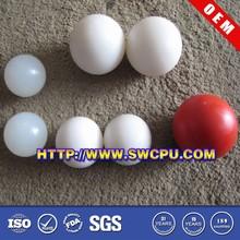 Colored solid rubber ball for handball