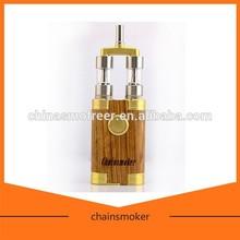 electronic cigarette wholesale vaporizer 18650 mod best vapor mod chainsmoker with wooden box mod design