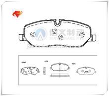 Alta qulity fabricantes de pastilhas de freio D1098-8202 ver 500020