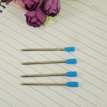 Custom size refill 53.5mm Mini metal pen refill cross style ballpoint pen refill for crystal pen stationery accessories