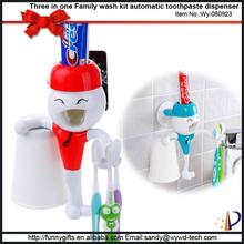 Cartoon bath accessories toothbrush holder food grade plastic