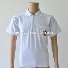 OEM plain short sleeve polo t shirt with pocket ,gift shirt