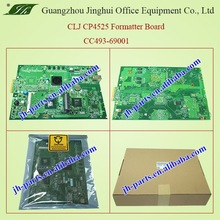 Printer Spare Parts Color Laserjet printer CP4525 Formatter Board Logic Card Main Board CC493-69001