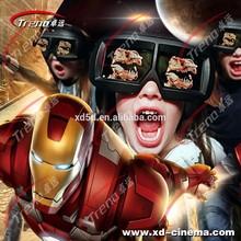hot sale 5d cinema 5d theatre, mobile 4d 5d 6d cinema,3d Active Glasses