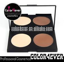 Wholesale double Colors Makeup Bronzer contour face powder Palettes makeup face foundation