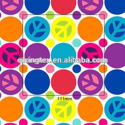 red/ white polka dot Stretch Elastic fabric for making cloth/ legging