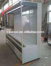 Vertical Fruit Chiller Display with built-in compressor