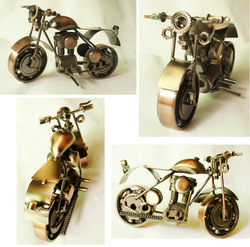 Iron antique finishing motorcycles models,Metal motorcyles models M7A