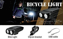 Newest style 2015 internal battery light for bike