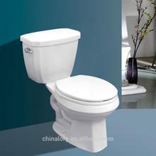 two-piece toilet bowl ceramic single flush