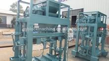 Mixture Brick Raw Material color paver block machine