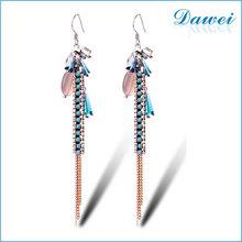 2015 new design beautiful stud earrings beads eardrop for lady